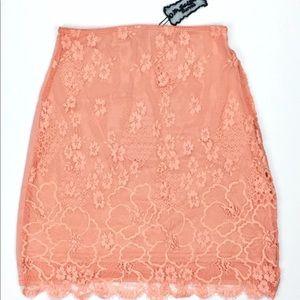 For Love & Lemons Flower Bomb Skirt